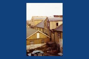 London Road, Mitcham: Mill opposite Watermeads Estate,