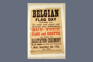Belgian Flag Day Poster