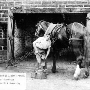 Grenoside Blacksmith,George Albert French