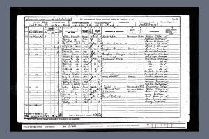 1901 census Southdown Road