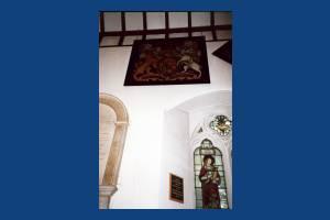 St. Mary's Parish Church: Royal Coat of Arms
