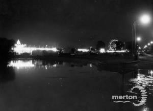 Mitcham Fair by night
