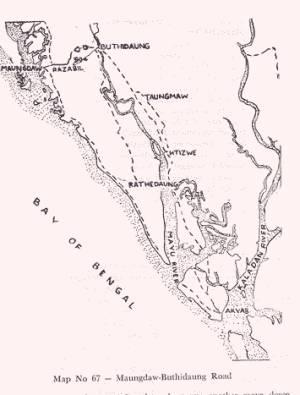 Area around Maungdaw Buthidaung