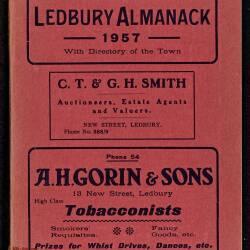 Tilley's Ledbury Almanack 1957