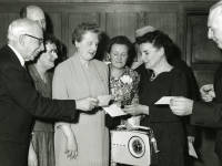 Miss H Baker: Retirement party, 1960