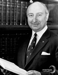Sydney Astin, Town Clerk, Merton Council