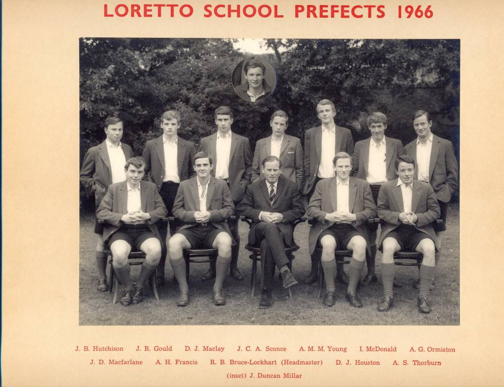 Loretto School Prefects 1966