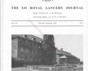 12th Lancers, 1956