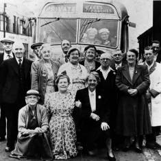 Boldon Colliery over 60 's Bus Trip.