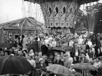 Mitcham Fair opening Ceremony view of crowds