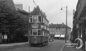 Tram on Merton Road