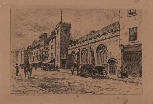 St. Lawrence Church, High St. Exeter, c1900, Exeter