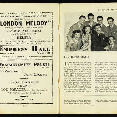 National Federation of Jazz Organisations, Royal Festival Hall - 1955 015