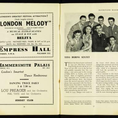 National Federation of Jazz Organisations, Royal Festival Hall - 1955 015