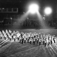Military Tattoo at the Greyhound Stadium