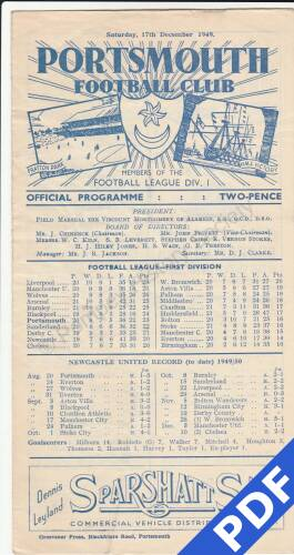 19491217 Newcastle Home
