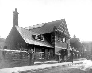 Wimbledon Public Library: Compton Road extension