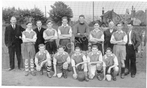 Grenoside Boys Football Team c.1950.