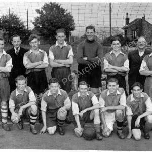 Grenoside Boys Football Team c.1950.