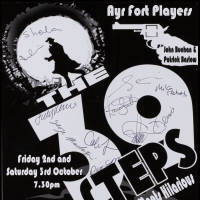 Flyer -The 39 Steps 2015 - Ayr Fort Players