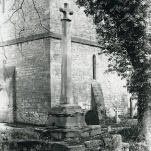 Bosbury church cross, 1917