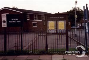 Lower Morden Lane: Morden Assembly Hall