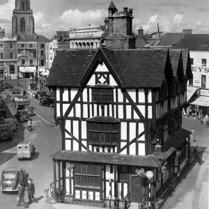The Black and White House in Hereford.