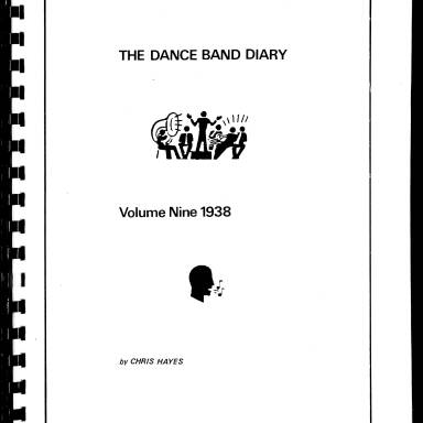 Dance Band Diaries Volume 9 1938