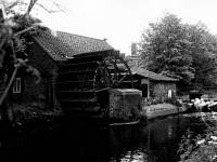 Liberty Print Works: The waterwheel