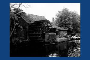 Liberty Print Works: The waterwheel