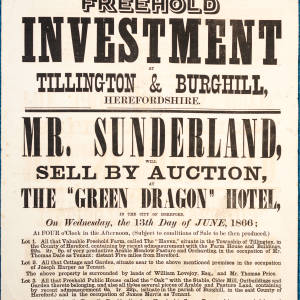 Poster Sale The Green Dragon Hotel Hereford 13th June 1866.jpg