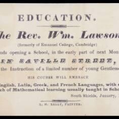 Reverend William Lawson