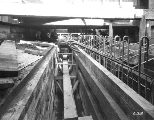 River Brent syphon brick culvert