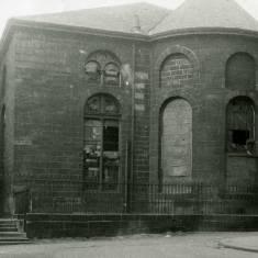 World War II damage to St. Hilda' Church