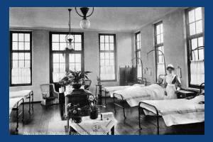 Nelson Hospital, Men's Ward,  Kingston Road