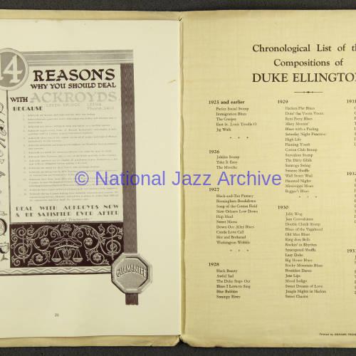 Duke Ellington Orchestra British Tour – July 1933 013