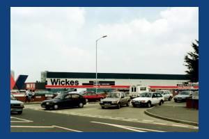 Plough Lane, Wimbledon: Wickes