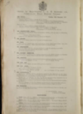 Routine Orders - June 1917 - June 1918 - Page 195