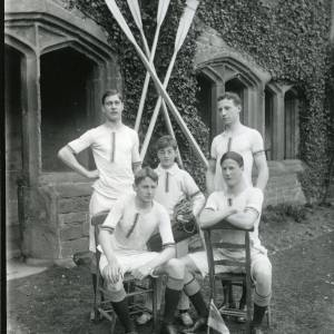 G36-026-02 Hereford Cathedral School coxed four in cloisters .jpg