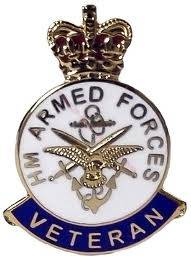Armed Forces Veteran Lapel Badge