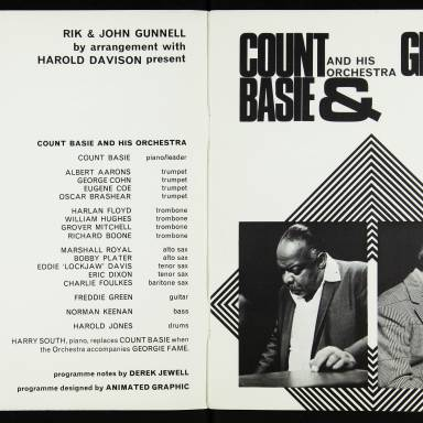 Count Basie and His Orchestra & Georgie Fame, Royal Festival Hall - 1968 - 002