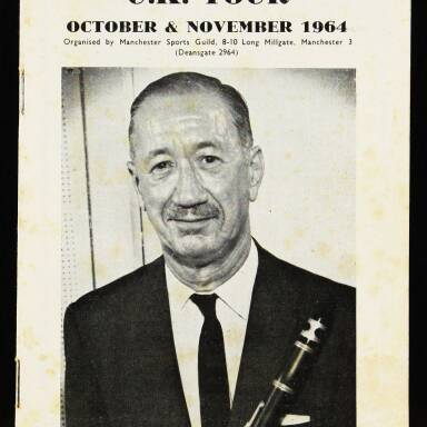 Pee Wee Russell UK Tour - 1964