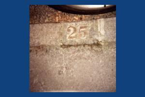 Edgehill, Wimbledon: Street Trader number near Sacred Heart Church
