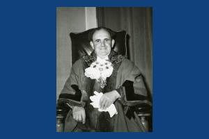 Alderman D W Chalkley Mayor 1959/60
