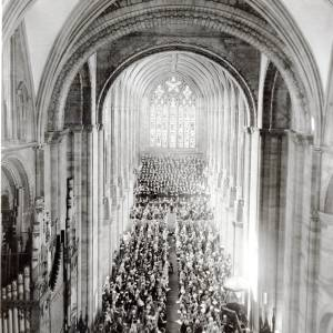 Three Choirs Festival Opening Ceremony, Hereford, 1967
