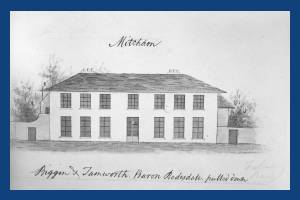 Baron Redesdale's House, Mitcham: demolished