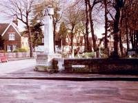 St. Mary's Parish Churchyard and Merton war memorial