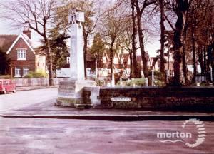 St. Mary's Parish Churchyard and Merton war memorial