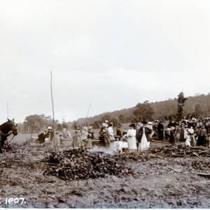 Hop Pickers, Woolhope, Herefordshire, 1907
