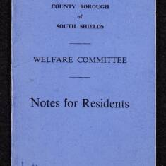 Welfare Committee - Notes for Residents